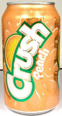 NEW FULL 12oz 355ml American Can Pepsi's Peach Crush USA 2011 Limited Edition
