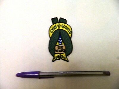 New Scout Cub 100 Years Australian Reef Knot Design Badge Fab Design  Wow!