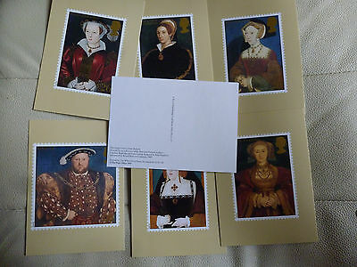 A Full Set Of 7 Post Office Postcards  --  The Great Tudor