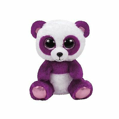 TY Beanie Boos Boom Boom the Purple Panda Plush