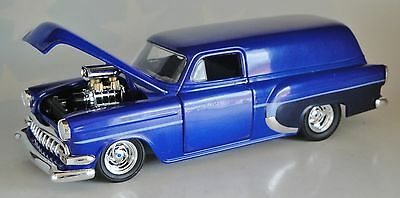 Blue 1954 Chevy Chevrolet Sedan Delivery Speccast Diecast