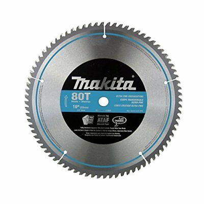 Makita A-93681 10-Inch 80 Tooth Micro Polished Mitersaw Blade New