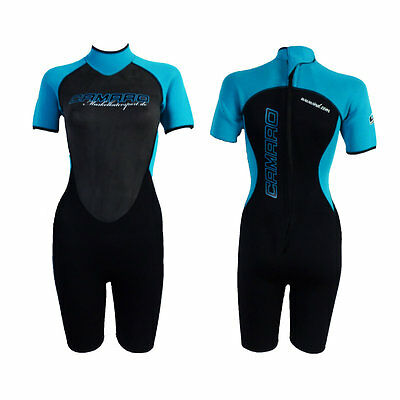 CAMARO SEMIDRY SHORTY WOMEN Damen Wetsuit Neoprenanzug Neopren Shorty 232326w
