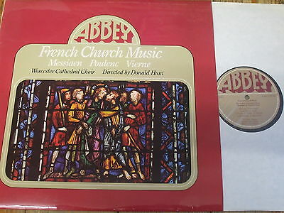 LPB 780 French Choral Music / Hunt / Worcester Cathedral Choir