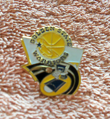 NBA Vintage Golden State Warriors Basketball Pin Badge - New