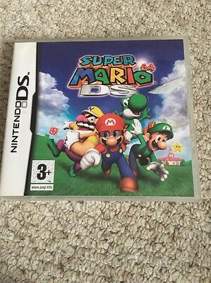 Super Mario 64 DS (Nintendo DS, 2005) - European Version