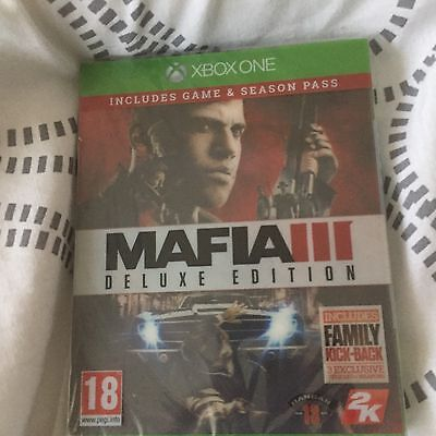 Mafia 3 Deluxe Edition - Xbox One New And Sealed