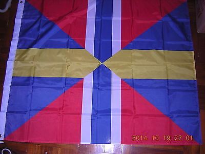 100% NEW Flag of Union Jack of Sweden and Norway 1844-1905 Ensign 120X120cm