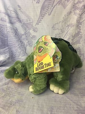 Vintage SPIKE Plush Toy Stuffed Animal The Land Before Time J.C. Penny 1988