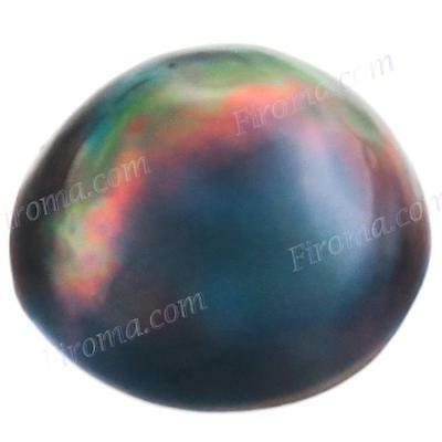 13MM 4CT BLUE GREY MABE SOUTH SEA LOOSE AAA pearl