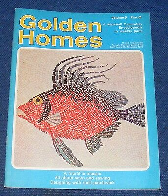 Golden Homes Magazine #61 - Home Fabrics - Designing With Shell Patchwork