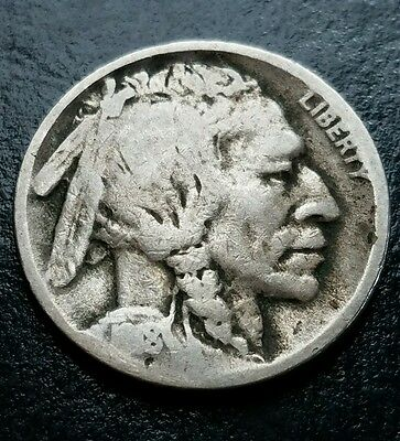 1918d Buffalo Nickel, with CHOICE VG Details!