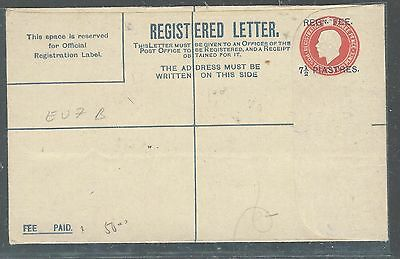 British Levant (P2307Bb)Kgv 7 P1/4 1/2D   Rle Mc Corq&co Contractors Kp   Unused