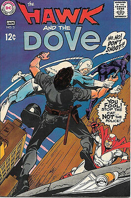 The Hawk and The Dove Comic Book #3, DC Comics 1969 FINE+