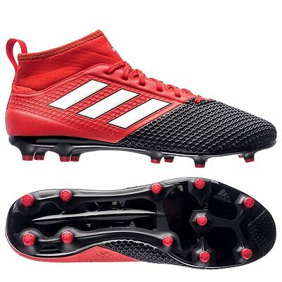 adidas Ace 17.3 Primemesh FG / AG 2016 Soccer Cleats Shoes Red / Black / White