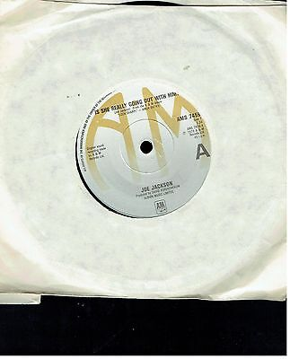 Joe Jackson Is She Really Going Out With Him 45 1979