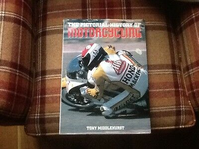 Motorcycle book. Pictorial History of Motorcycling by Tony Middlehurst