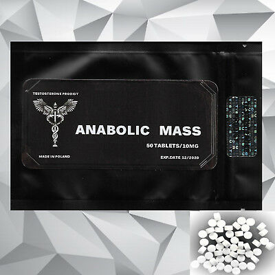 ANABOLIC MASS - Anabolic Weight Gain Tablets Pills- Roids Muscle Mass Growth!