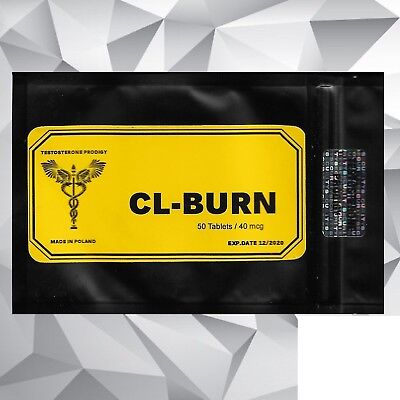 LEGIT CLENBURN High Performance Hardcore Fat Burner Extreme Diet Pills- 50 tabl