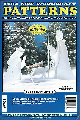 BLESSED NATIVITY ~ THE WINFIELD COLLECTION woodworking