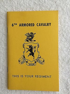 6th Armored Cavalry History