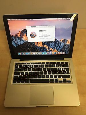 "Macbook Pro 13.3"" con GARANTIA A1278 Finales 2011 Intel i5 4GB DDR3 500GB op.SSD"