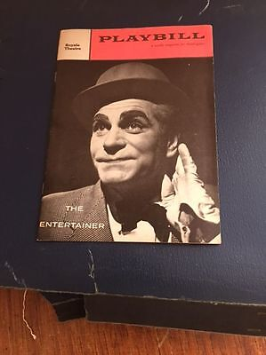 The Entertainer Playbill 1958 Laurence Olivier Joan Plowright Royale Theatre