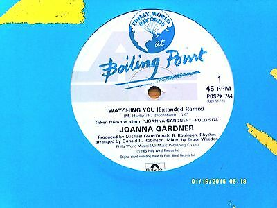"Joanna Gardner Watching You 12"" Single 1985 N/mint"