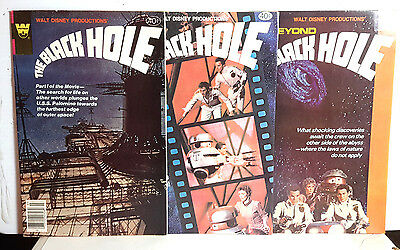 Walt Disney Black Hole Movie Whitman #1-3 Comic Book Set of 3-  (M5353)