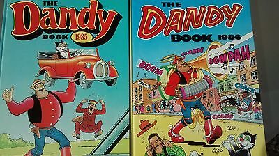 Two Collectible 'Dandy' Annuals (1985 & 1986)