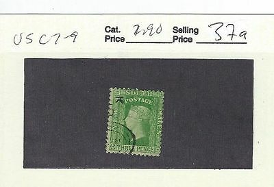 New South Wales Sc# 37A Used Stamp