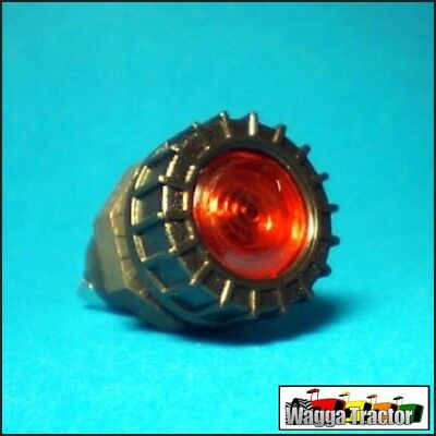 DLT6373 Red Dash Warning Light 12 Volt with Globe to suit 17mm Hole
