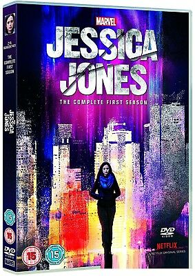 MARVEL'S JESSICA JONES 1 (2015) Krysten Ritter TV Season Series -  R2 DVD not US