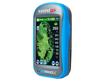 SURESHOT GPS SS9500X  Preloaded with Australian Courses & Warranty NO FEES