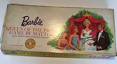 Original Vintage 1960's Barbie Queen Of The Prom Game By Mattel