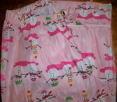 Girls Pajama Pants sz 16 OLD NAVY Yellow Polyester Flannel w//Girls /& Poodles NEW