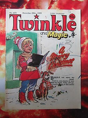 Twinkle  Comic No.623. 29 December 1979. G. Christmas Issue. Dress Twinkle Page