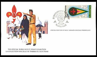 1982 Pakistan - Official World Scout Stamp Collection - Fdi - Card - J48