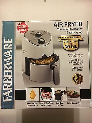 Farberware Air Fryer 'uses Little To No Oil-Cooks Up To 2Lbs Of Food'  New !!