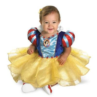 SNOW WHITE INFANT Costume, Multi, 12-18 Months New
