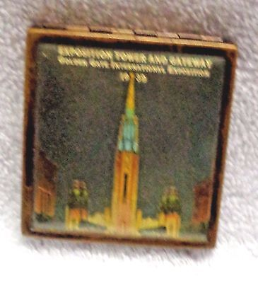 1939 Golden Gate Exposition  World's Fair Tower And Gateway Compact
