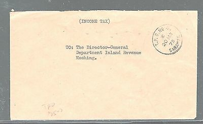 Sarawak (Pp2604B) 1973 To Income Tax Dept Stampless Tpo No 4