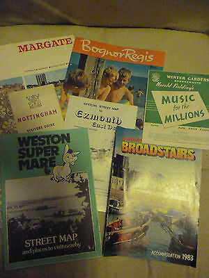 7 Souvenir  Booklets/leaflet From Around Britain