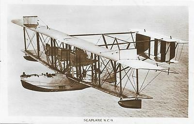 1921 US Navy Curtiss Flying Boat NC-9 Unused RP Postcard