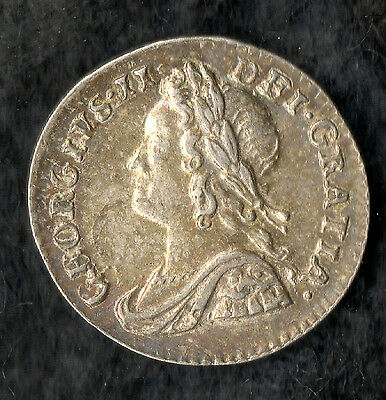 George II Maundy Penny Silver 1759