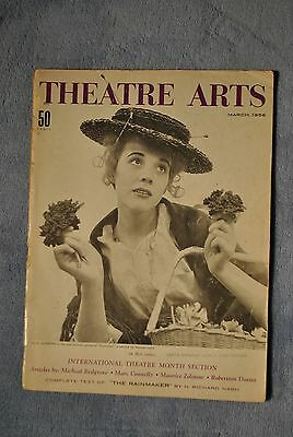 Rare 1956 Theater Arts Magazine - Julie Andrews - My Fair Lady