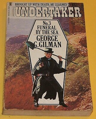 THE UNDERTAKER #3 Funeral By The Sea / GEORGE G GILMAN / Edge / NEL WESTERN 1981