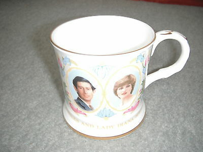 Coalport Royal Wedding Mug Charles & Diana