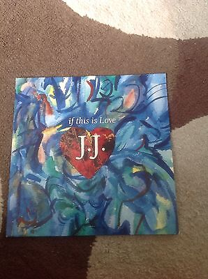 """J.J - If This Is Love 12"""""""