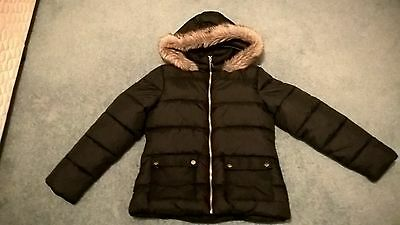 Matalan Candy Couture Black School Coat 12 - 13 Years Vgc